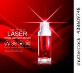 laser serum collagen and...   Shutterstock .eps vector #438609748