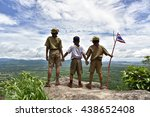 Small photo of america boy Scout.