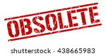 obsolete stamp.stamp.sign... | Shutterstock .eps vector #438665983