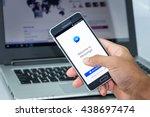 chiang mai thailand   jun 18 ... | Shutterstock . vector #438697474