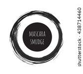 vector grunge brush ring... | Shutterstock .eps vector #438714460