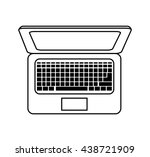 technology and device concept.... | Shutterstock .eps vector #438721909