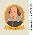 vector illustration of william... | Shutterstock .eps vector #438727360
