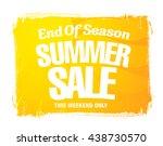 End Of Season. Summer Sale....