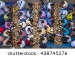 communal charity iftar...   Shutterstock . vector #438745276