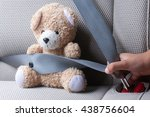 hand of asian young boy is... | Shutterstock . vector #438756604