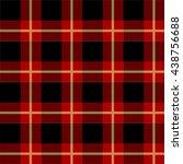 tartan pattern vector  | Shutterstock .eps vector #438756688