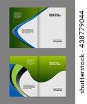 brochure template  | Shutterstock .eps vector #438779044