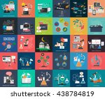 science and research | Shutterstock .eps vector #438784819