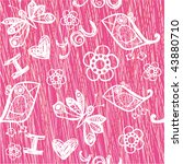 'i love you' wallpaper with...   Shutterstock .eps vector #43880710