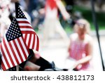 American Flag Show By People O...