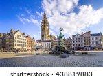 antewerp  belgium   apr 11 ... | Shutterstock . vector #438819883