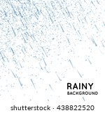 rainy sky illustration | Shutterstock . vector #438822520