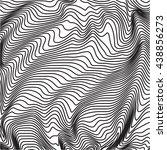 retro  vintage black and white... | Shutterstock . vector #438856273