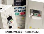 industrial frequency inverters  ... | Shutterstock . vector #43886032