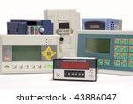 industrial frequency inverters  ... | Shutterstock . vector #43886047