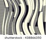 abstract grunge vector... | Shutterstock .eps vector #438866350