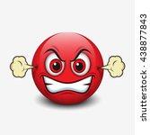 Angry Emoticon  Emoji  Smiley ...