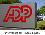 Small photo of Indianapolis - Circa 2016: ADP Location. ADP is a Provider of Business Outsourcing Services I