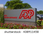 Small photo of Indianapolis - Circa 2016: ADP Location. ADP is a Provider of Business Outsourcing Services II