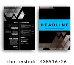 abstract background. geometric... | Shutterstock .eps vector #438916726