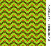 repeating wave pattern  wave... | Shutterstock .eps vector #438945040