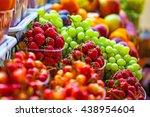 fresh market produce at an... | Shutterstock . vector #438954604
