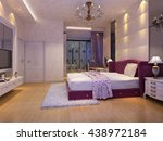 3d rendering bed room  | Shutterstock . vector #438972184