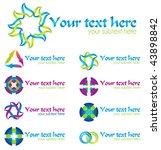 set of vector design elements... | Shutterstock .eps vector #43898842