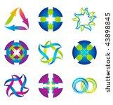 set of vector design elements... | Shutterstock .eps vector #43898845