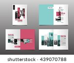 Template design, Layout, Brochure ,Geometric Abstract Modern Backgrounds | Shutterstock vector #439070788