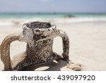 Old Greek Amphora On Elafoniss...