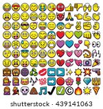 vector set of different 110... | Shutterstock .eps vector #439141063