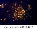 Glittering Stars Bokeh Christmas Background - Fine Art prints