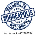 Welcome To Minneapolis Stamp...