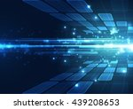 vector digital technology... | Shutterstock .eps vector #439208653