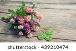 Clover Flowers Bouquet With...