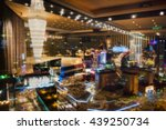 blurred image   the windows of... | Shutterstock . vector #439250734