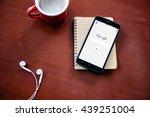 bangkok  thailand   june 17... | Shutterstock . vector #439251004