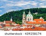 Beautiful Cityscape Of Prague...