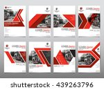 red business technology annual...   Shutterstock .eps vector #439263796
