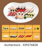 sushi | Shutterstock .eps vector #439276828