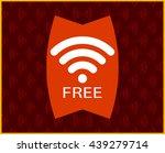 wifi free password concept... | Shutterstock .eps vector #439279714