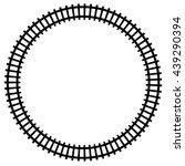 Railway  Railroad Silhouettes...