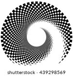 inward spiral of rectangles....   Shutterstock .eps vector #439298569