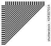 abstract checkered geometric... | Shutterstock .eps vector #439307014