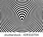 optical illusion swirl  vector   Shutterstock .eps vector #439310704