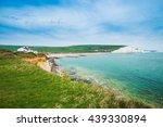 Seven Sisters Cliffs In South...