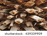 Palm Tree Bark Background...