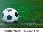 soccer football field stadium... | Shutterstock . vector #439364170